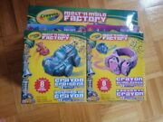 New Crayola Melt'n Mold Factory + Bling Rings Refill + Cruisers Refill Pack