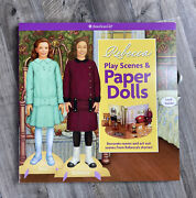American Girl Dolls Rebecca And Ana Play Scenes And Paper Dolls New Never Used