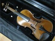 rare Matsu And Co. 4/4 Vintage 1920 Violin With Hard Case Shipped From Japan