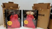 75th Anniversary Barbie Doll Blonde And Brunette Both Gmm98 Mattel 2020 Pair Stock
