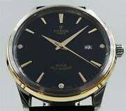 Tudor Style 12703 Stainless Steel And 18k Yellow Gold With Box And Papers