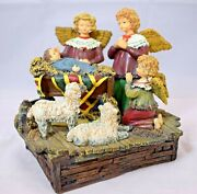 Susan Winget Angels And Nativities - Angel's Nativity Lang And Wise Collectibles
