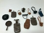 Lot Of Vintage Marx Johnny West Action Figure Accessories Only