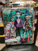 Monster High Loves Not Dead 2 Doll Pack Sloman And Ghoulia Yelps Sealed Mint