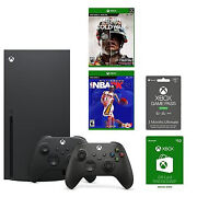 Xbox Series X Online Gaming System Bundle - In Hand And Ships Now