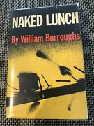 Signed Naked Lunch William S. Burroughs 1st Ed. 1st Print 1959 Grove Press