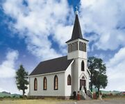 Walthers Cornerstone - 933-3655 Cottage Grove Curch 'ho' Construction Kit L/o