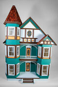 The Painted Lady Dollhouse Large Victorian Fully Assembled W/ Furniture