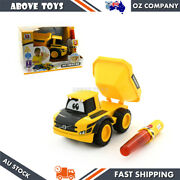 Bbjunior Volvo My First Rc Dump Truck With Traffic Wand Remote Baby Kids 24m +