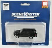 Walthers Scenemaster 949-12042 Ford Expedition Police Black Unmarked Unit