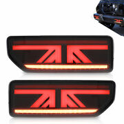 Smoked Led Sequential Taillight Rear Lamp Replacement For 20182020 Suzuki Jimny