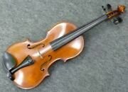 Vintage Heinz F. Krause Hfk Natural 4 Strings Size 4/4 Violin Shipped From Japan