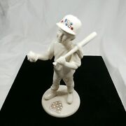 Mint 1995 Lenox China Jewels Collection 8 Baseball Player Boy 1 Made In Usa