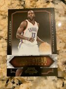 James Harden 2009-10 Playoff Contenders Rookie Of The Year Gold 50 /100 Ssp