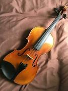 Rare Gewa Meister 2011 Size 4/4 Violin With Hard Case Shipped From Japan