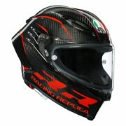 New Agv Pista Gp Rr Carbon Performance Motorcycle Riding Helmet Size Ms