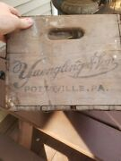 Old Yuengling And Son Pottsville Pa Wood Beer Crate