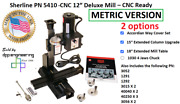 Sherline Pn 5410 Metric 12″ Deluxe Mill – Cnc-ready + 2 Options