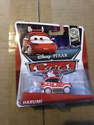 2014 Disney World Of Cars Die Cast Tuners Harumi 8 Of 8 New In Package
