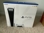 Sony Ps5 Console Disc Version Free Fast Ship