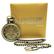 Pocket Watch Neon Genesis Evangelion First Model Japan Limited Of 500 Pcs