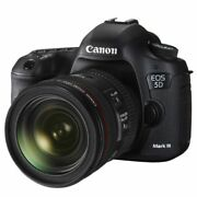 Near Mint Canon Eos 5d Mark Iii With Ef 24-70mm F/4 L Is Usm - 1 Year Warranty