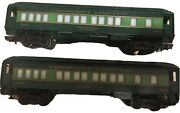 Lionel 9532 And 9533 Crescent Limited P.g.t. Beauregard And Stonewall Jackson Cars