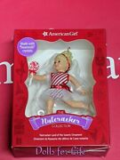 American Girl Nutcracker Ornament Collection Made W/ Crystals New
