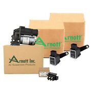 Arnott Air Suspension Compressor And Valve Unit And Sensors Kit For Mb W251 R350