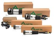 Arnott Front And Rear Air Struts Compressor Kit For Mb W220 S430 4matic Airmatic