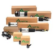 Arnott Front Rear Air Struts And Compressor And Sensor Kit For Mercedes W220 Awd