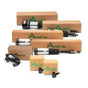 Arnott Front Rear Air Struts And Compressor And Sensor Kit For Mercedes W220 S500