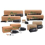 Arnott Front Air Struts Rear Shocks Springs And Valve Kit For Mb X164 Awd Airmatic