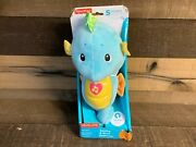 Fisher-price Soothe And Glow Seahorse Blue With Lights And Sounds New
