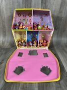Lalaloopsy Lot Mini Dolls W Accessories Pets Carrying Case House Dot Starlight