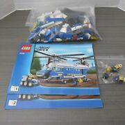 Lego City Police 4439 Heavy Duty Helicopter Complete With Instruction No Box