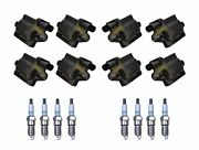 Denso 8 Ignition Coils 8 Iridium Long Life Spark Plugs 0.044 Kit For Chevy Gmc