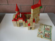 Model Castle Playset Maximand039s Castillos Childand039s Toy Blocks Middle Ages Gift