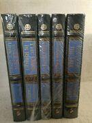 Easton Press The Dark Is Rising By Susan Cooper 5-volume Leatherbound Signed Set