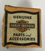 Vintage Harley Davidson Empty Parts And Accessories Box