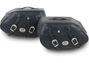 Hepco And Becker Saddlebags Buffalo Black Set Pair For C-bow Sidecarriers