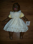 Cute Vtg Collector's Gerber Rare African American Flirty Eyes Baby Doll W/tag