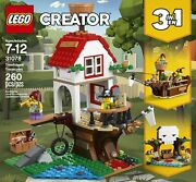 Lego 31078 Creator Treehouse Treasures - 260 Pieces New Pirate Ship Skull Cave