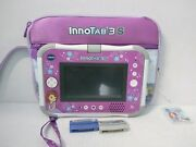 Vtech Innotab 3s Sofia Wi-fi Learning Tablet Rare With Case And Game