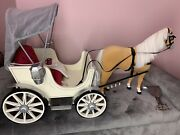 American Girl Pretty City Carriage And Horse