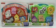 Fisher Price Laugh And Learn Farm And Zoo Interactive Puzzle 2 Designs Bn