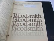 Woodsmith Magazine Lot Of 18 Issues 22-39 1982,83,84,85 In Binder With Extras
