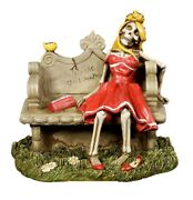 Summit Collection Waiting For The Perfect Man Skeleton Woman Resin Figurine