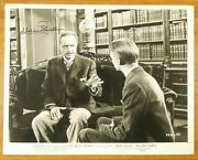 William Powell Actor Signed 8x10 Photo With Jsa Coa