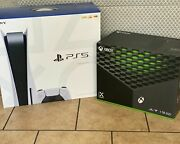 Xbox Series X 1tb Console And Sony Ps5 Digital Console Bundle New Ships Fast